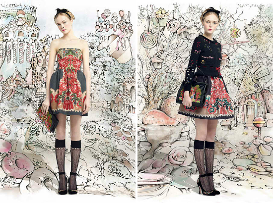 Red Valentino Fall 2013