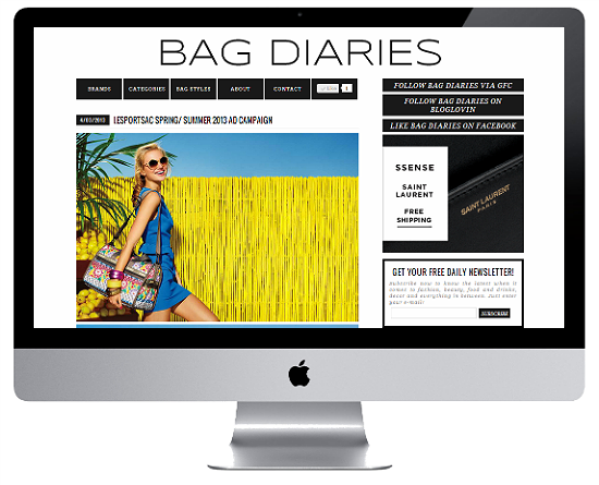 Bag Diaries Blog